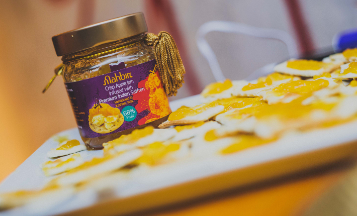 Mahbir Crisp Apple Jam infused with saffron photo by Ranj & Sharan Photography