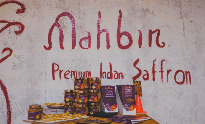 Mahbir Premium Indian Saffron, photo by Ranj & Sharan Photography