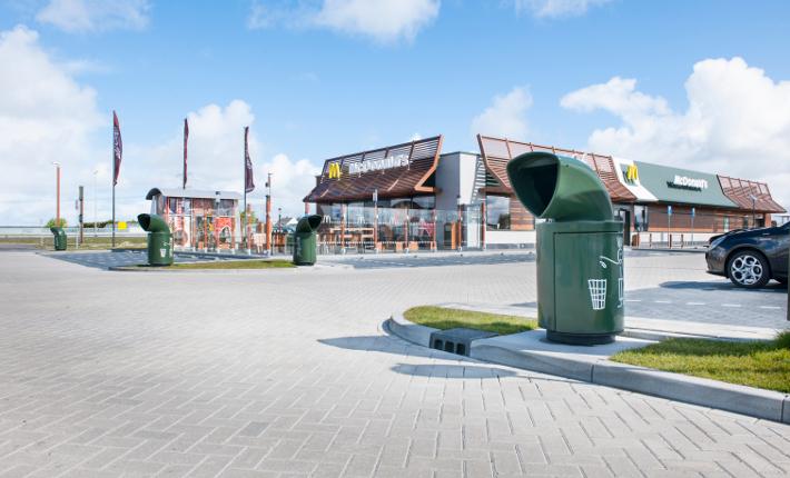 McDonald´s Nederland gaat restafval maximaal recyclen