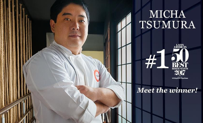 Micha Tsumura from restaurant Maido