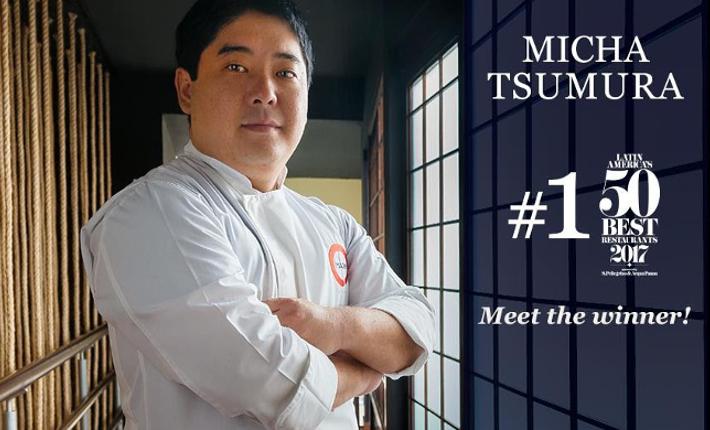 Micha Tsumura from restaurant Maido