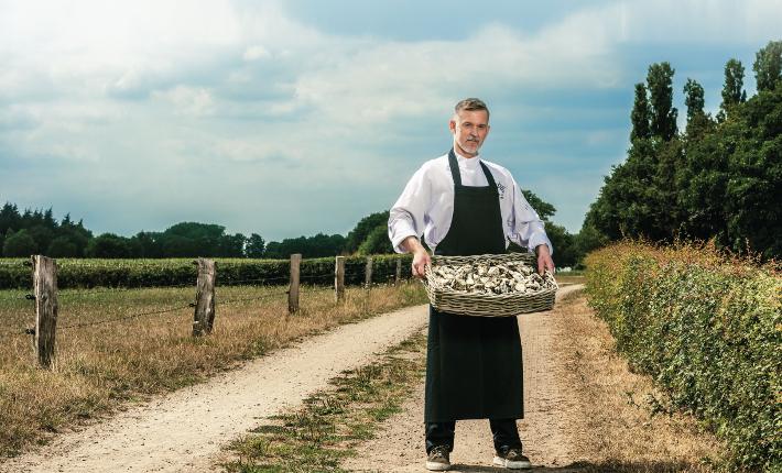 Chef Marcel van Lier van restaurant Latour - Twente aan Zee