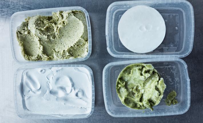 Microgreen ice cream, SPACE10, credits Kasper Kristoffersen