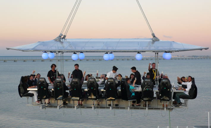 'Dinner in the Sky' Lisboa