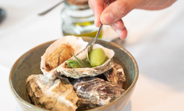 Oesters Zeezout - Rotterdams menu voor 20-jarig jubileum van restaurant Zeezout