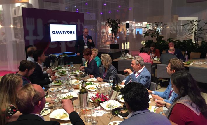 Omnivore presentatie tijdens Gastvrij Rotterdam 2018