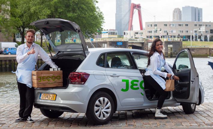 Online boodschappendienst Jeqqo in Rotterdam -credit SmaakMakers Compagnie