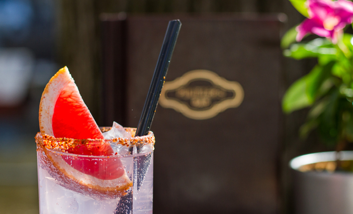 Paloma cocktails - VIP deck hotel Pulitzer tijdens #CanalPride