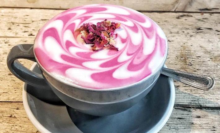 Premium, Organic Pink Matcha