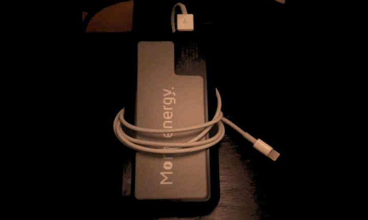 Powerbank of Xtorm with cable