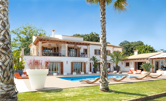 Proef Mallorca: Cangelat Dalt house with pool