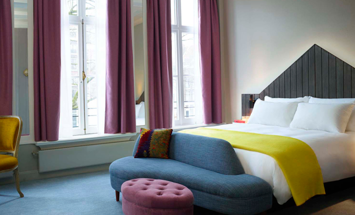 Pulitzer Hotel Amsterdam, The Generous King Canal room - Pulitzer Home collection