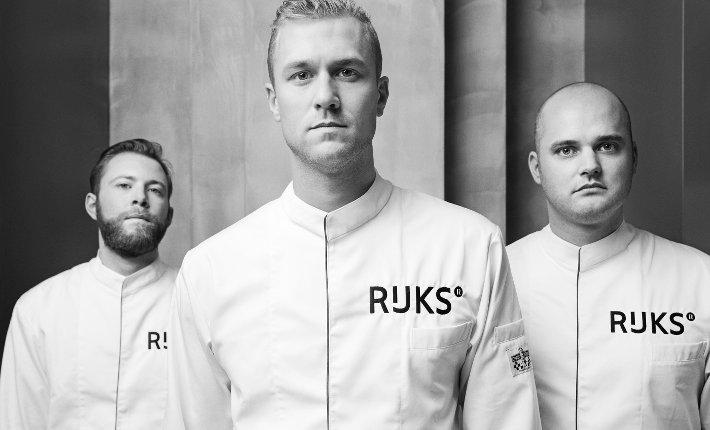 RIJKS ® Chefs. Vlnr.: Jos Timmer, Joris Bijdendijk en Wim de Beer. (credits: Erik Smits)