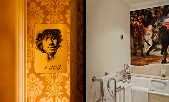 Rembrandt Suite, InterContinental Amstel hotel in Amsterdam