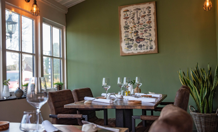 Restaurant Morille interieur