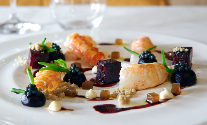Gerecht van Wim Severein, restaurant The Millèn