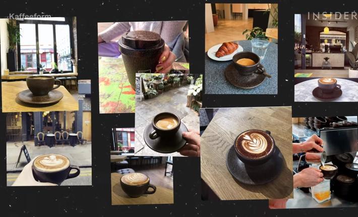 Kaffee Form