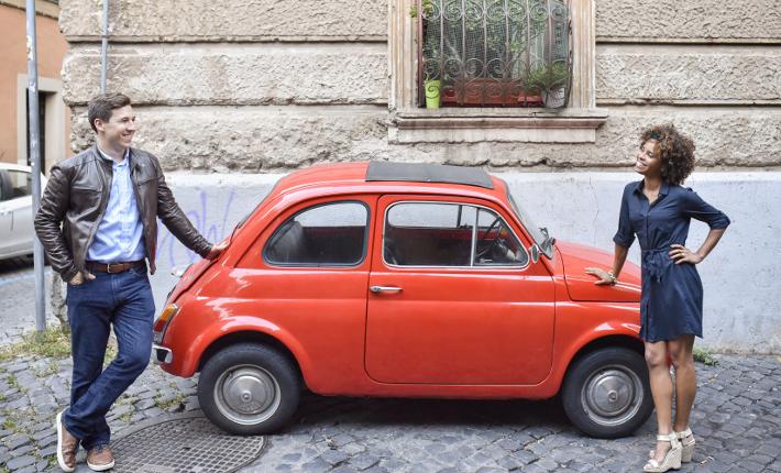 Roberta in Rome for Flytographer