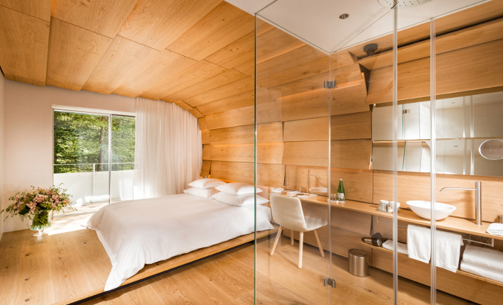 Room by Kengo Kuma at the 7132 Hotel