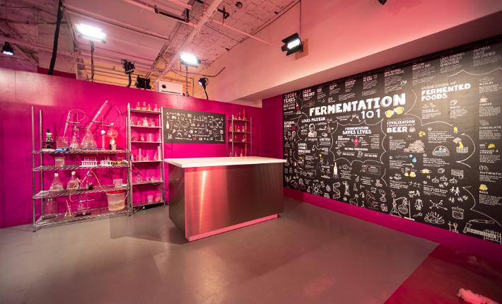 Rosé Mansion Fermentation room l Credits James Coletta