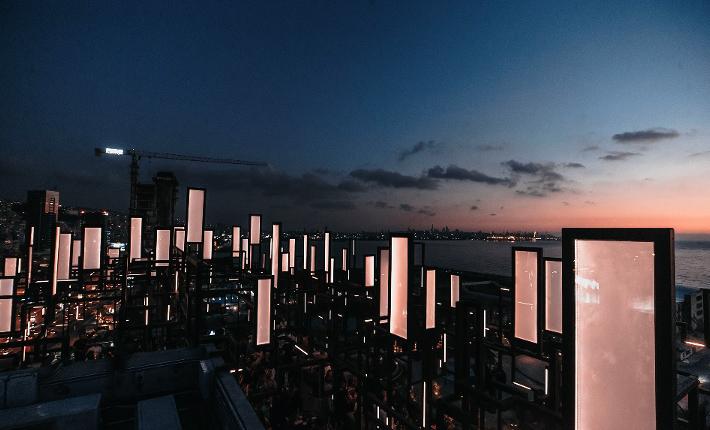 SPINE rooftop lounge Beirut - credits Eva Szumilas
