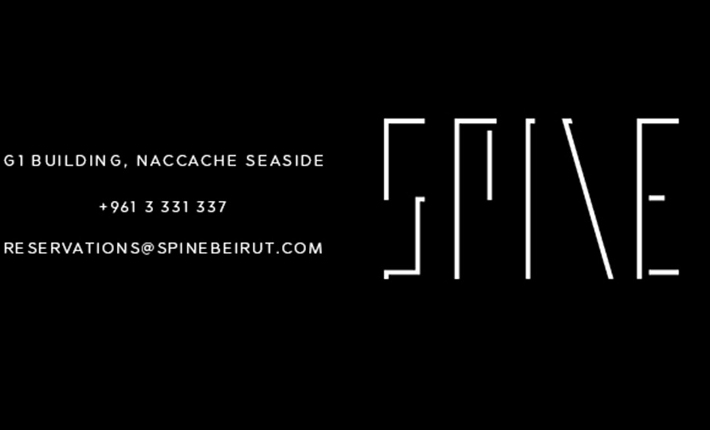 SPINE rooftop lounge Beirut - logo