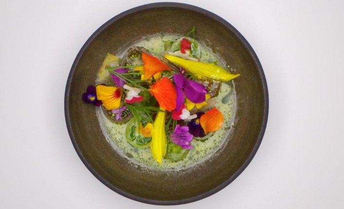 Sang Hoon Degeimbre (L'air du temps) at Chefs(R)evolution via www.apicbase.com