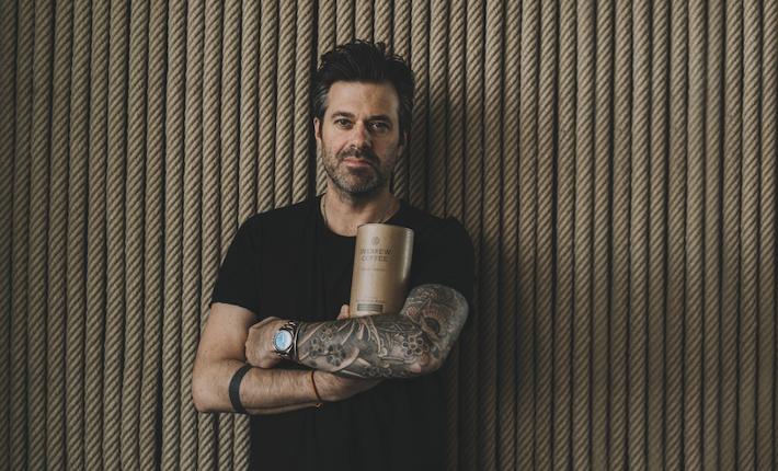 Sergio Herman met inkbrew coffee l credits Chantal Arnts