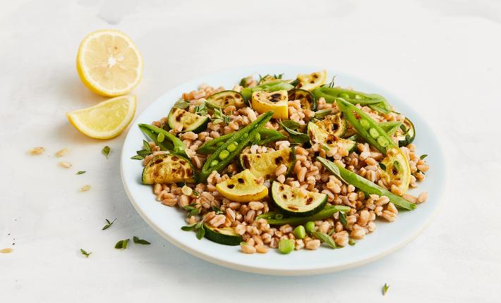 Sides - Farro salad - credits Aubrie Pick