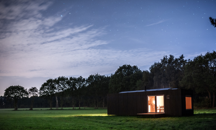 Slow cabins by Jonas Verhulst