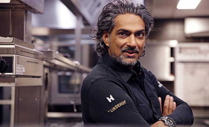 Chef Soenil Bahadoer, credits Patrick Meis