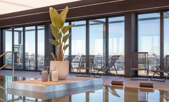 pa Andaz hotel Munich credits Wouter van der Sar for concrete