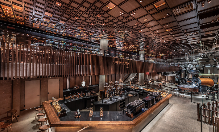 Starbucks Roastery New York