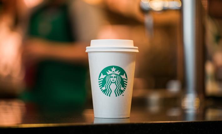 Starbucks greener cup