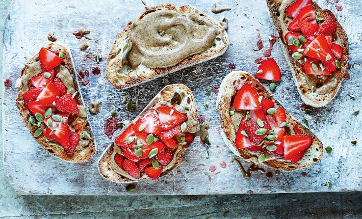 StrawberryToast by Pip & Nut