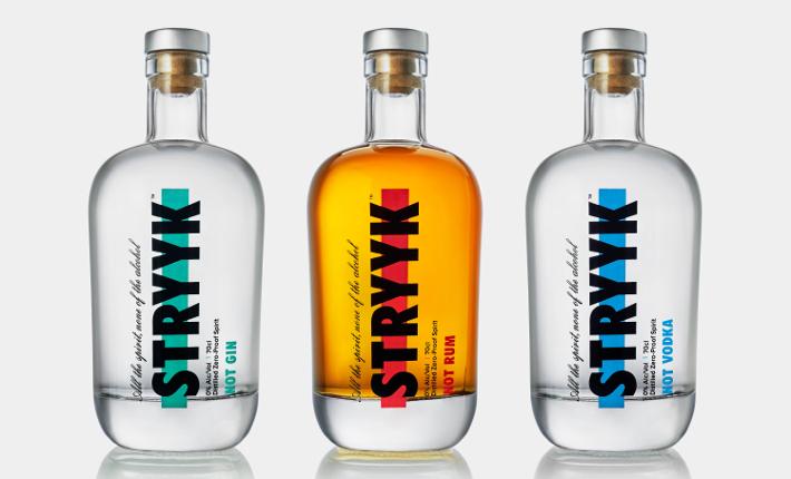 Strykk three bottle shot
