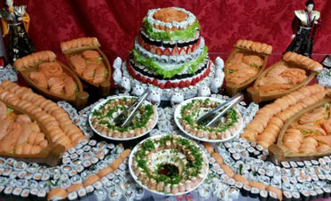 sushi wedding cake recipe sushisamba the japanese and peruvian cuisine 20660