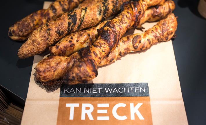 TRECK nieuw foodmerk op treinstations in Nederland