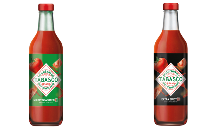 Tabasco Tomato Drinks