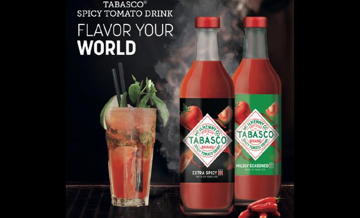 Tabasco Tomato Drinks