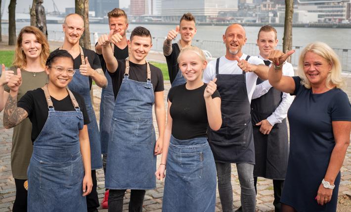 Team restaurant Zeezout