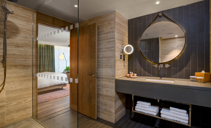The Vegan Suite at the Hilton London Bankside