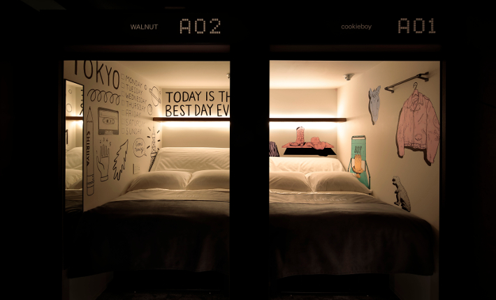 The next generation of Capsule hotels