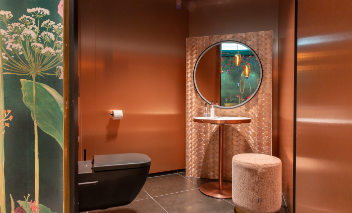 Toiletten bij de Horecawerf Amsterdam - credits ESTIDA