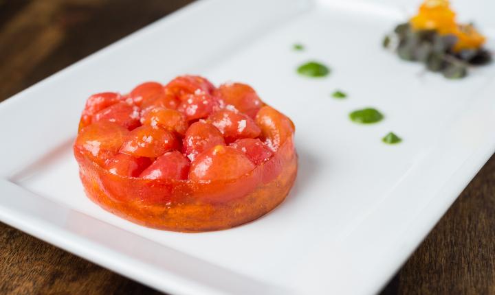 Tomato Cake by Dirt Cake