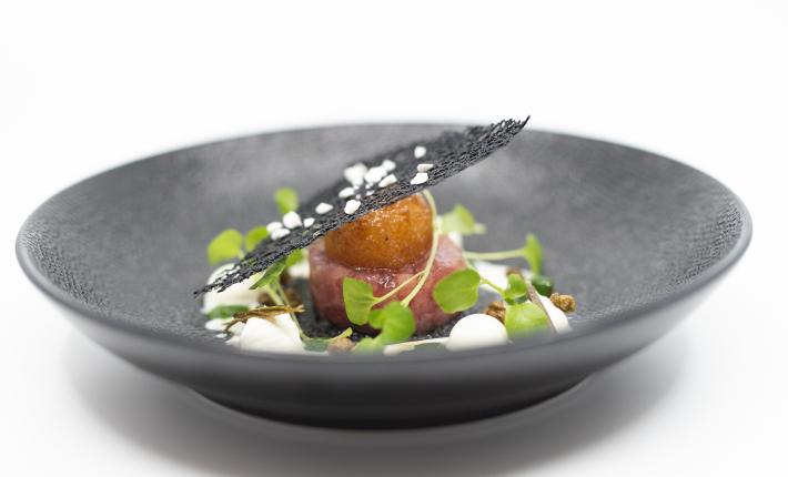 Tonijntartaar Zeezout - Rotterdams menu voor 20-jarig jubileum van reataurant Zeezout