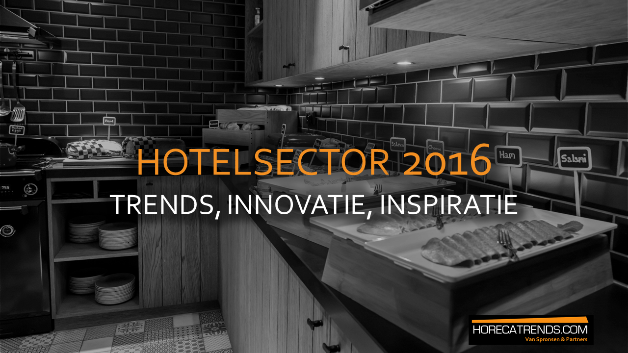 Trends hotelsector Augustus 2016