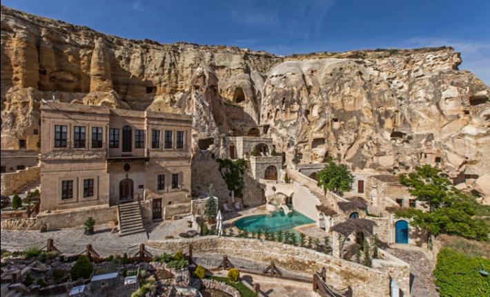 Unak Evleri, a five star cave hotel