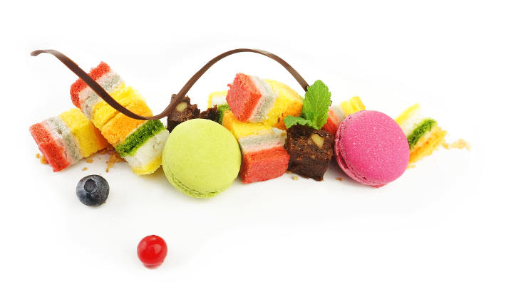 WUJIE All Natural Vegetable Colored Rainbow Cake Õ¢®ÞÖ¦  HT