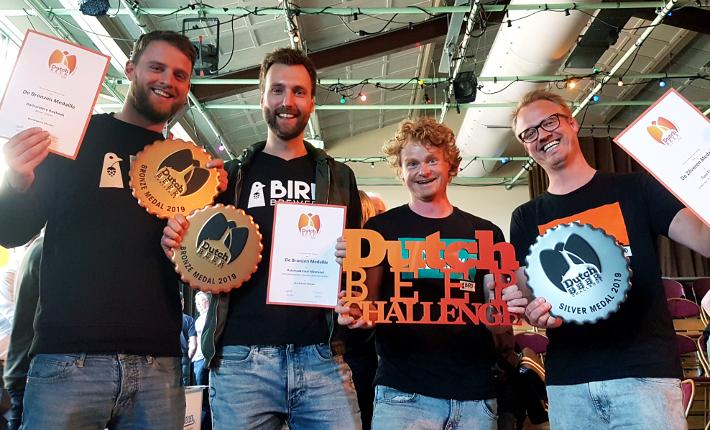 Bird Brewery wint prijzen Dutch Beer Challenge